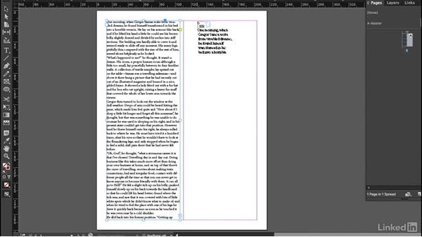 Text flow and text threading: InDesign Typography Part 2