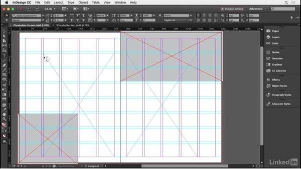 Using placeholder text to mock up pages: InDesign Typography Part 2