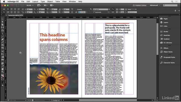 Auto-sizing text frames: InDesign Typography Part 2