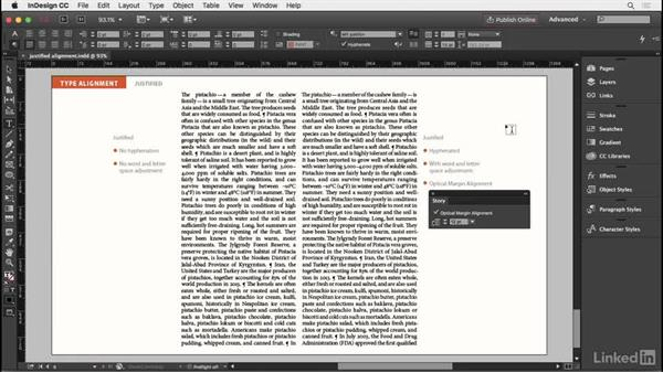 Justified type: InDesign Typography Part 2