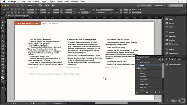 First-line indents: InDesign Typography Part 2