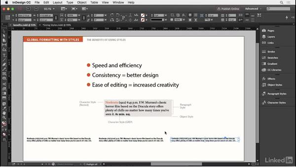 Efficient and consistent formatting: InDesign Typography Part 2