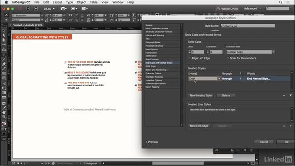 Nested styles and line styles: InDesign Typography Part 2