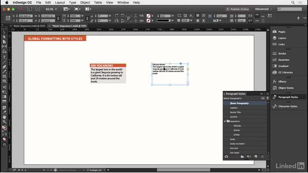 Sequential styles: InDesign Typography Part 2