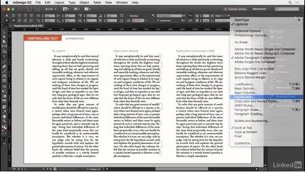 Hyphenation: InDesign Typography Part 2