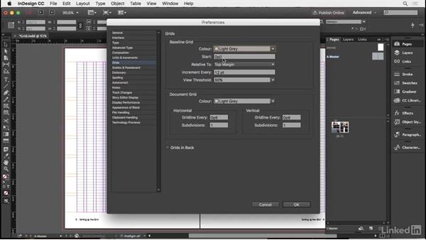 Working with a grid: InDesign Typography Part 2