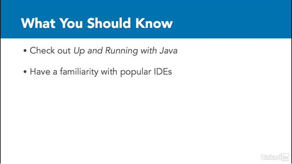 What you should know before watching: Overview of IDEs for Java