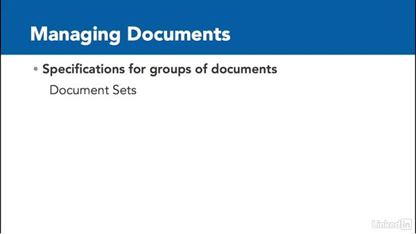 Documents and content: The basics: SharePoint 2016 Essential Training