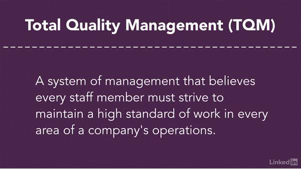 Supplier quality management: Purchasing