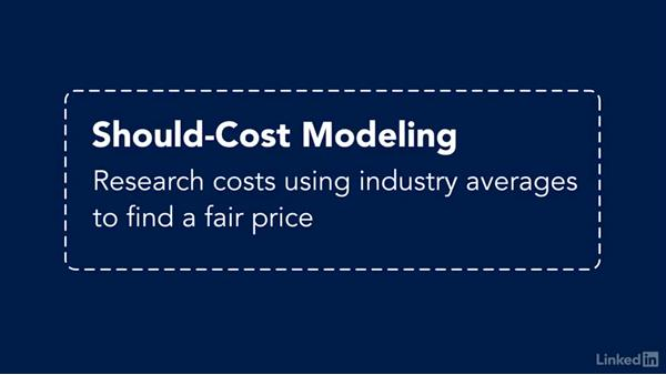 Should-cost analysis: Purchasing