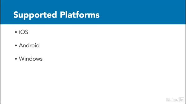 What platforms does PhoneGap Build support?: Learn PhoneGap Build: The Basics