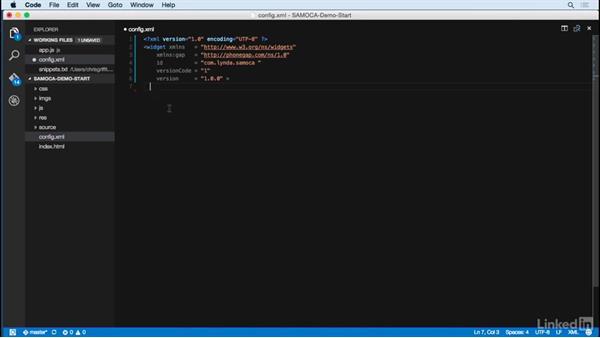 Configuration basics: Learn PhoneGap Build: The Basics