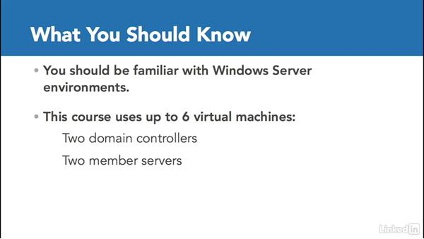 What you should know before watching this course: Windows Server 2012 R2: Configure a Network Policy Server Infrastructure