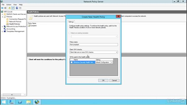 Configure NAP: Windows Server 2012 R2: Configure a Network Policy Server Infrastructure