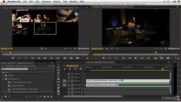 Editing in Adobe Premiere Pro: DSLR Video Tips: Software