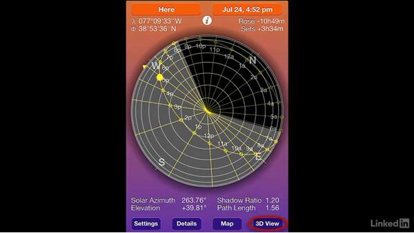 Using Sun Seeker to track sun or moon position: DSLR Video Tips: Software