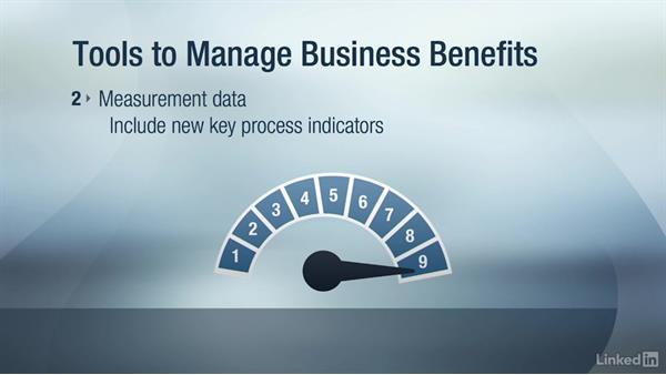 Business benefits realization: Change Management