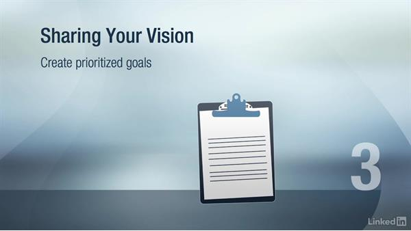 Share the future vision: Change Management