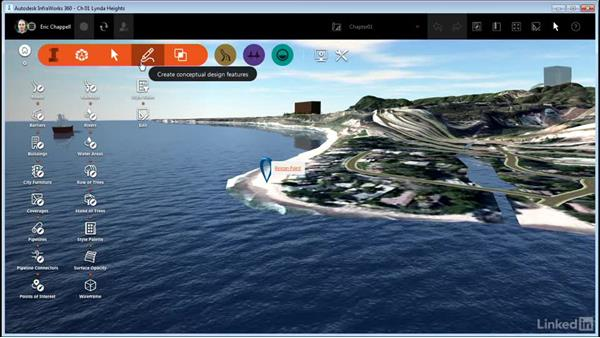 Using the Intelligent tools: InfraWorks 360 Essential Training