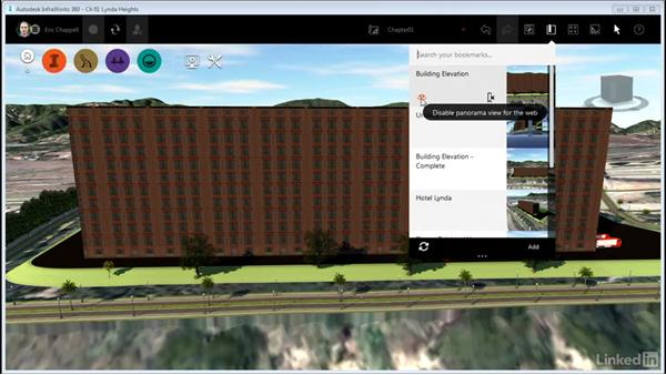 Creating and using bookmarks: InfraWorks 360 Essential Training