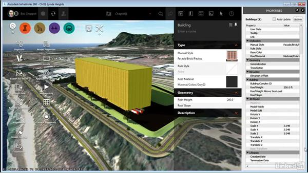 Properties and data tables: InfraWorks 360 Essential Training