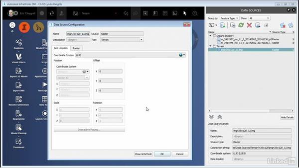 Adding terrain data: InfraWorks 360 Essential Training