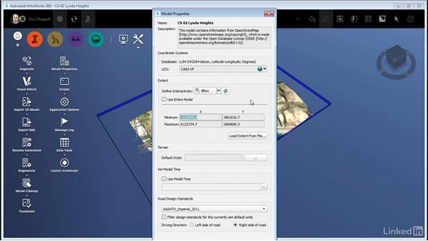 Exploring Model Properties: InfraWorks 360 Essential Training