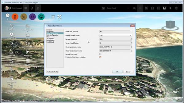 Exploring the Application Options: InfraWorks 360 Essential Training