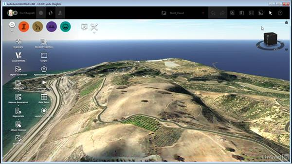 Updating the model thumbnail: InfraWorks 360 Essential Training