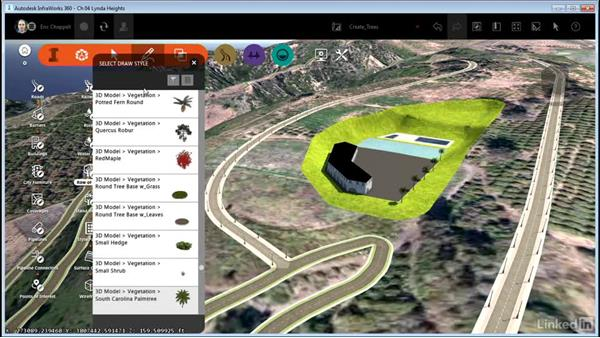 Creating trees: InfraWorks 360 Essential Training