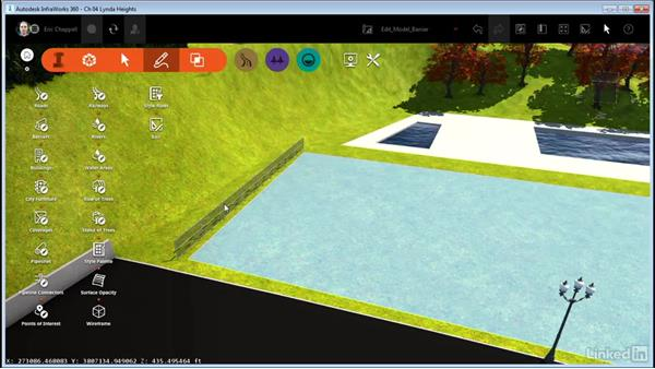 Editing 3D-model-based barriers: InfraWorks 360 Essential Training