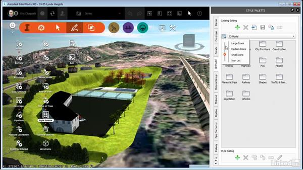 Understanding the Style Palette: InfraWorks 360 Essential Training