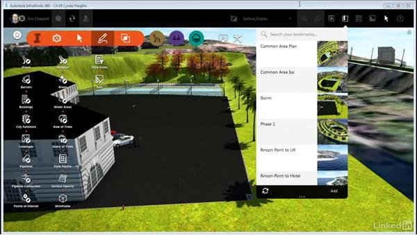 Working with Surface Display (Opacity and Wireframe): InfraWorks 360 Essential Training