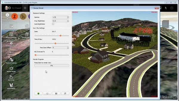 Rendering your model: InfraWorks 360 Essential Training