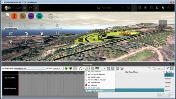 Creating a storyboard: InfraWorks 360 Essential Training