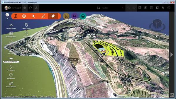 Measuring your model: InfraWorks 360 Essential Training