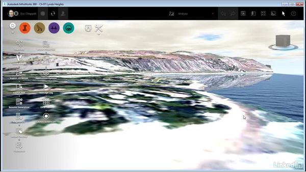 Analyzing visibility: InfraWorks 360 Essential Training
