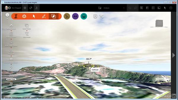 Using Range Finder: InfraWorks 360 Essential Training