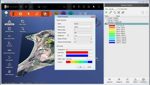 Using Terrain Themes: InfraWorks 360 Essential Training