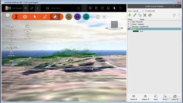 Working with Point Cloud Themes: InfraWorks 360 Essential Training