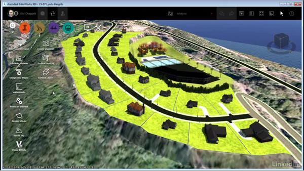 Using Sun & Sky for analysis: InfraWorks 360 Essential Training