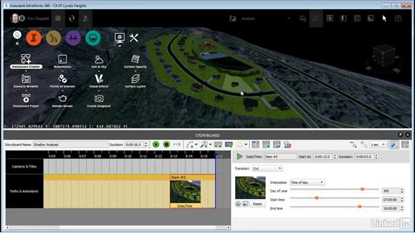 Using a storyboard for analysis: InfraWorks 360 Essential Training