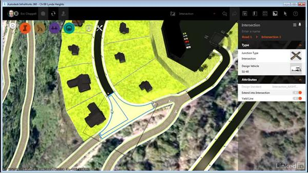 Working with intersections: InfraWorks 360 Essential Training