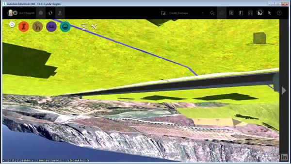 Creating pavement drainage: InfraWorks 360 Essential Training