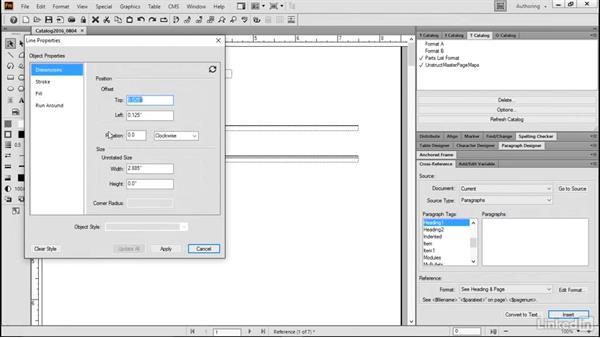 Modify footnote properties: FrameMaker 2015 Essential Training