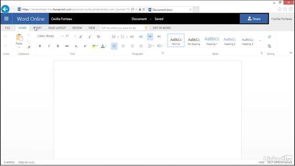 Understanding OneDrive with Office: OneDrive for Business Essential Training