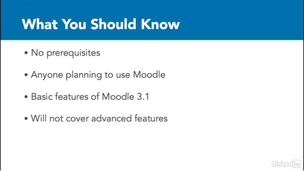 Who is this course for?: Learn Moodle 3.1: The Basics