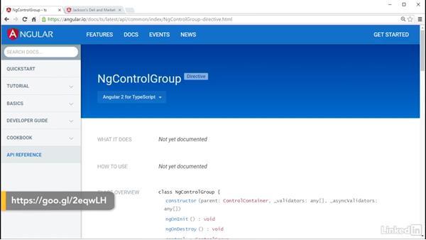 Input type text: Angular 2 Forms: Data Binding and Validation