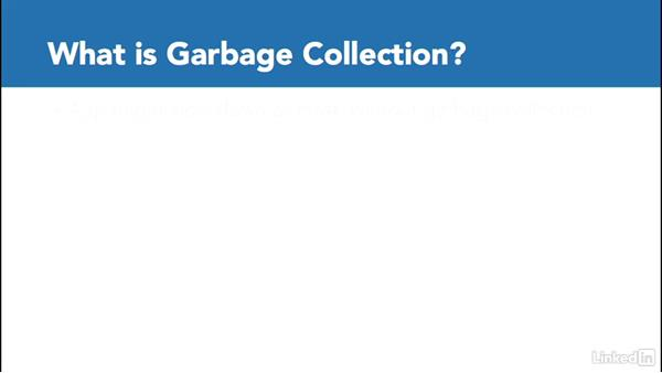 What is garbage collection?: C# with .NET Programming