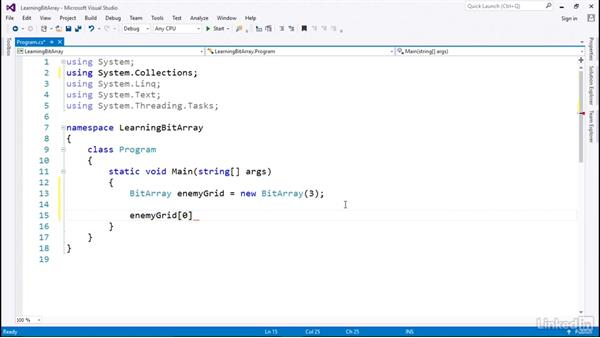BitArray for Booleans: C# with .NET Programming